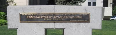 World War II Memorial image. Click for full size.