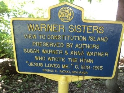 Warner Sisters Marker image. Click for full size.