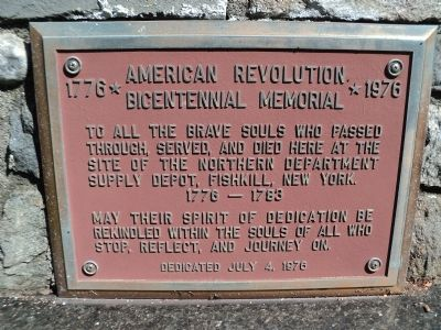 American Revolution Bicentennial Memorial Marker image. Click for full size.