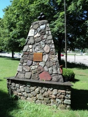 Fishkill Encampment Marker<br>(northeast view) image. Click for full size.
