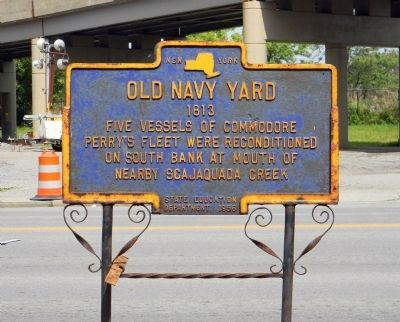 Old Navy Yard Marker image. Click for full size.