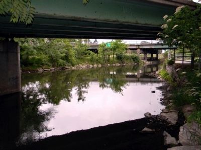 Historic Scajaquada Creek Today image. Click for full size.