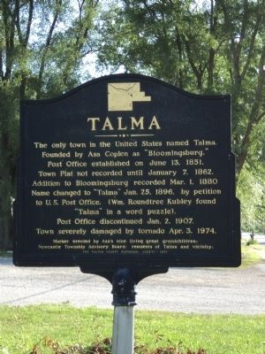 Talma Marker image. Click for full size.