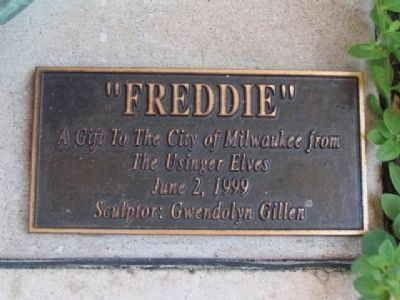 Freddie Plaque image. Click for full size.
