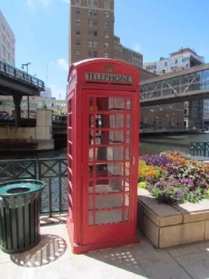 Nearby British Style Phone Booth image. Click for full size.