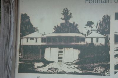 Old Image of White Sulphur Springs Spring House image. Click for full size.