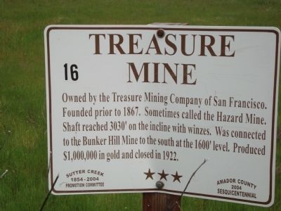 Treasure Mine Marker image. Click for full size.