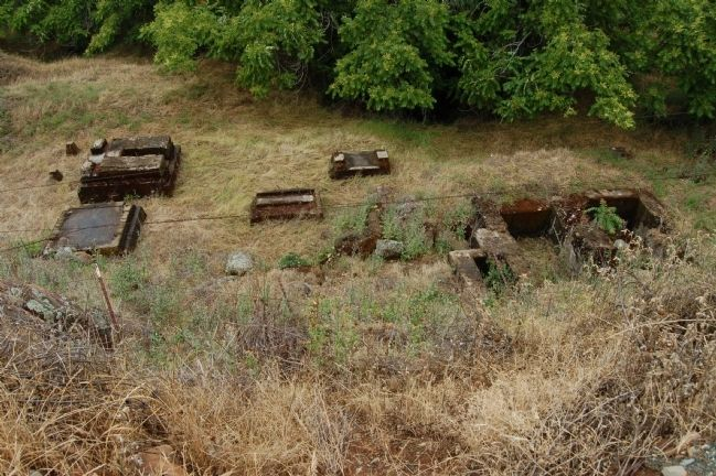 Treasure Mine Hoist Works Foundation. image. Click for full size.