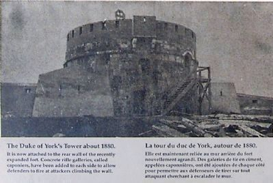 Martello Tower around 1880 image. Click for full size.