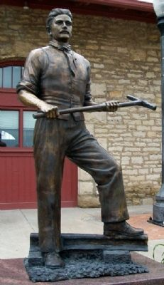 Working Men of the Railroads Statue image. Click for full size.