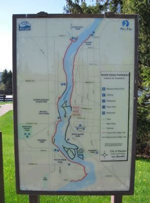 Nearby River Edge Parkway Map image. Click for full size.