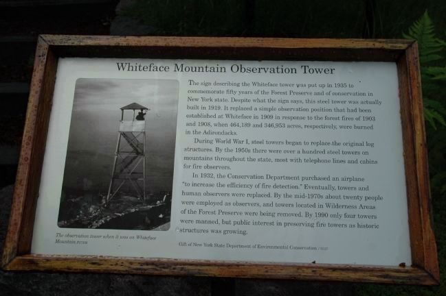 Whiteface Mountain Observation Tower image. Click for full size.