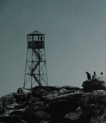 Whiteface Mountain Fire Tower image. Click for full size.