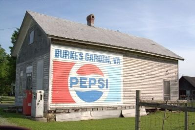 Burke's Garden Post Office and General Store image. Click for full size.
