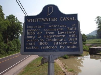 Whitewater Canal Marker image. Click for full size.