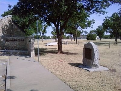 Fort Sill Marker image. Click for full size.