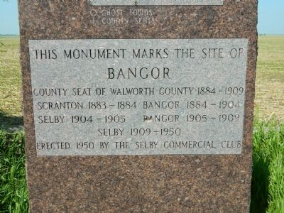 Bangor Marker image. Click for full size.