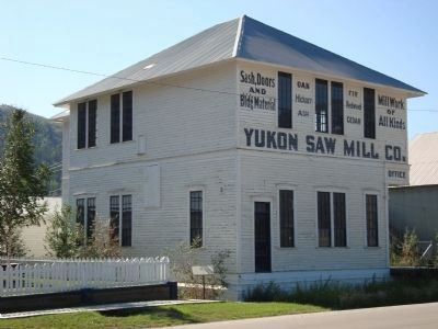 Yukon Saw Mill Office image. Click for full size.