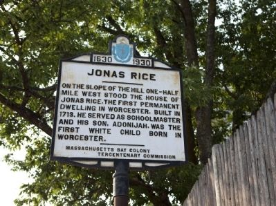 Jonas Rice Marker image. Click for full size.