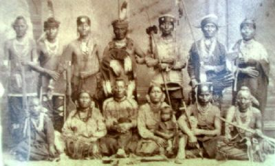 Photo on Homeland of the Kanza Indians Marker image. Click for full size.