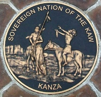 Seal of the Kanza Nation image. Click for full size.