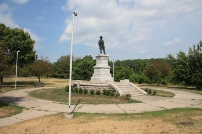 James B. Steedman Monument Photo, Click for full size