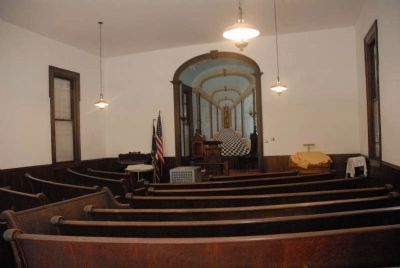 MItchellville Universalist Church Interior image. Click for full size.