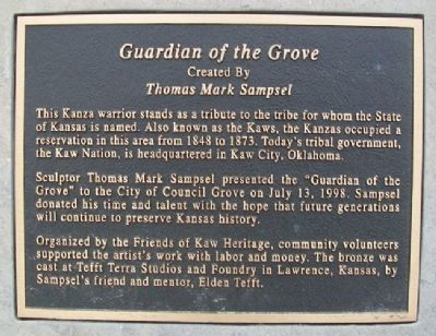 Guardian of the Grove Marker image. Click for full size.