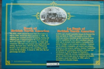 Bank of British North America/La Bank of British North America Marker image. Click for full size.