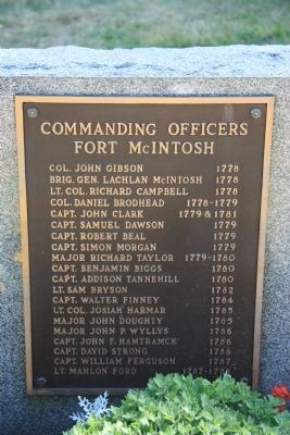 Commanding Officers Historical Marker