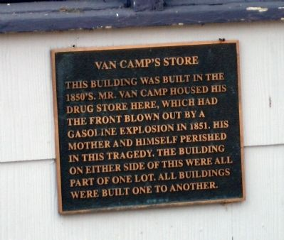 Van Camp's Store Marker image. Click for full size.