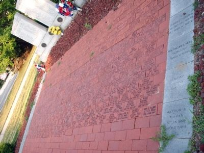 """Memorial Bricks"" Photo, Click for full size"