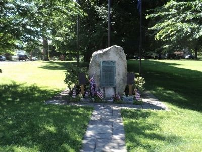 War Memorial in Cold Spring image. Click for full size.