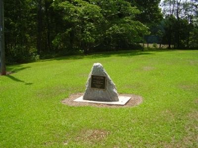 Holly Springs School Marker image. Click for full size.
