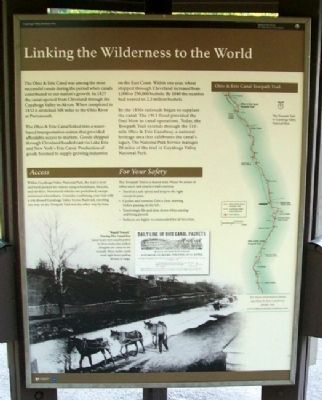 Linking the Wilderness to the World Marker image. Click for full size.