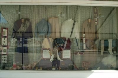 Madame Tremblay�s Store, window display. image. Click for full size.