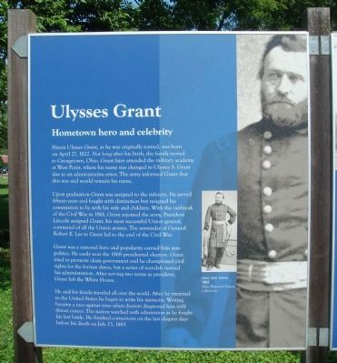 Ulysses Grant Marker Photo, Click for full size