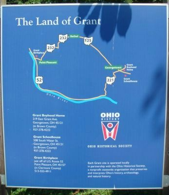 "Related ""The Land of Grant"" Marker image. Click for full size."
