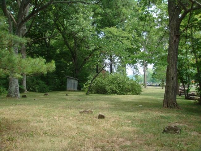 Little Cedar Grove Baptist Church Burial Plot image. Click for full size.