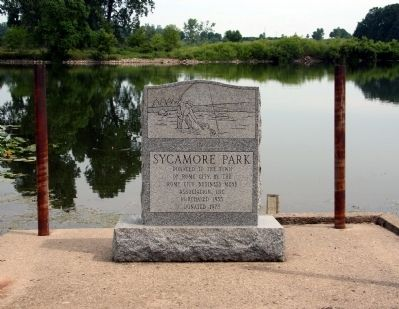 Sylvan Lake Marker image. Click for full size.