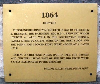 Brewery Marker image. Click for full size.
