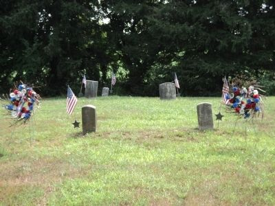 Graves in Stratton Burying Ground image. Click for full size.