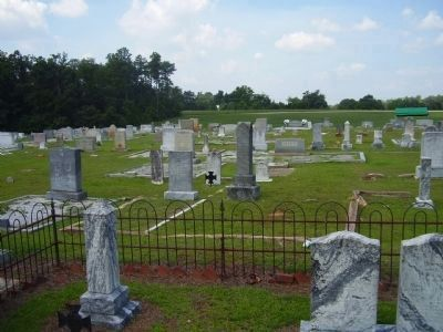 Holly Springs Baptist Cemetery image. Click for full size.