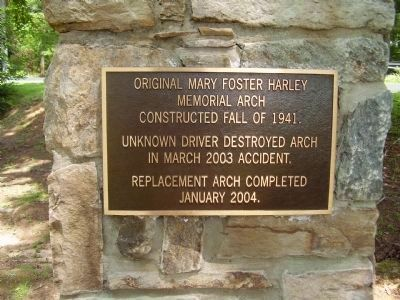 Holly Springs Plaque image. Click for full size.