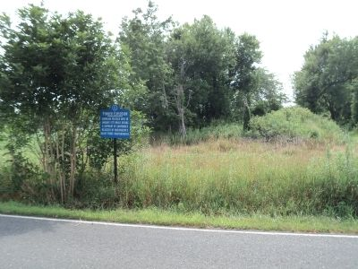 Marker on Branin Road image. Click for full size.