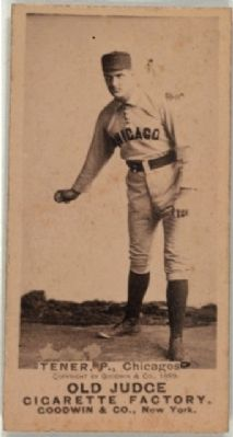 Governor John Tener as a Baseball Player image. Click for full size.