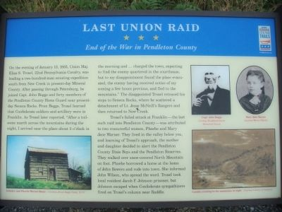 Last Union Raid Marker image. Click for full size.
