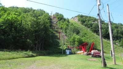 Base of the hill and lift. image. Click for full size.
