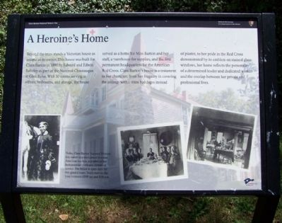 A Heroine's Home Marker image. Click for full size.