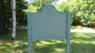 Newport Hill Marker image. Click for full size.